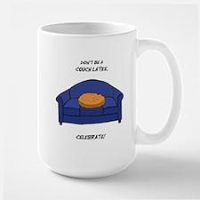 Couch Latke Mug