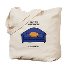 Couch Latke Tote Bag
