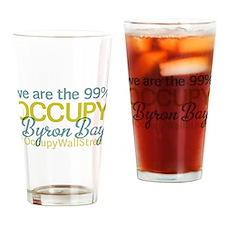 Occupy Byron Bay Drinking Glass