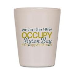 Occupy Byron Bay Shot Glass