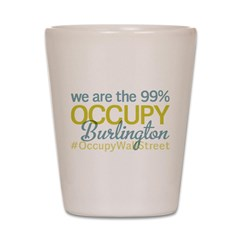 Occupy Burlington Shot Glass