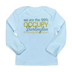 Occupy Burlington Long Sleeve Infant T-Shirt