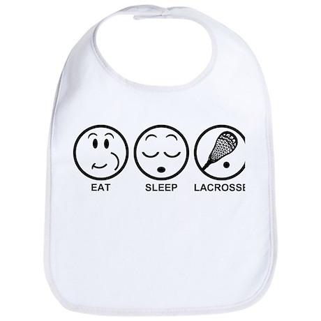 Eat Sleep Lacrosse Bib