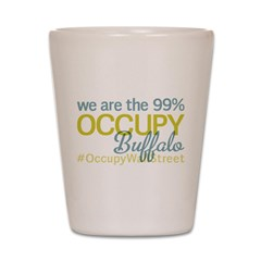 Occupy Buffalo Shot Glass