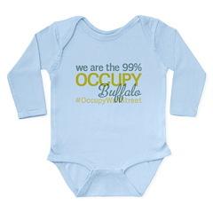Occupy Buffalo Long Sleeve Infant Bodysuit