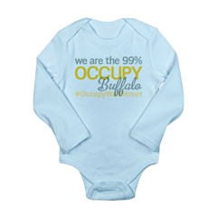 Occupy Buffalo Long Sleeve Infant Bodysuit