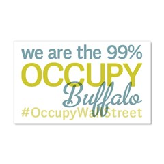 Occupy Buffalo Car Magnet 20 x 12