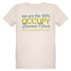 Occupy Buenos Aires Organic Kids T-Shirt