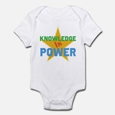 Knowledge is Power Infant Bodysuit