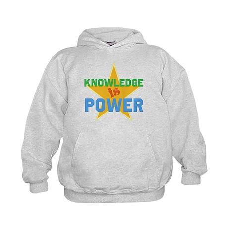 Knowledge is Power Kids Hoodie