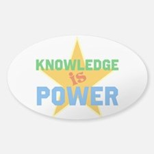 Knowledge is Power Decal