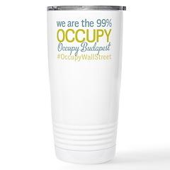 Occupy Budapest Travel Mug