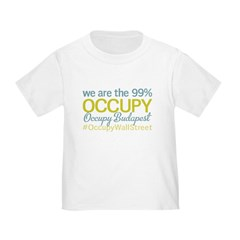 Occupy Budapest Toddler T-Shirt