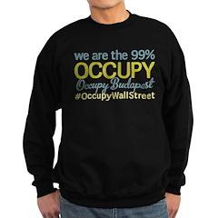Occupy Budapest Sweatshirt (dark)