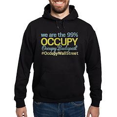 Occupy Budapest Hoodie (dark)