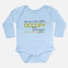 Occupy Brugge Long Sleeve Infant Bodysuit