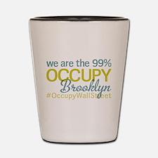 Occupy Brooklyn Shot Glass