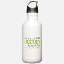Occupy Brooklyn Water Bottle