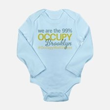 Occupy Brooklyn Long Sleeve Infant Bodysuit