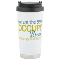 Occupy Bronx Stainless Steel Travel Mug