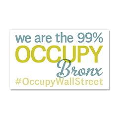 Occupy Bronx Car Magnet 20 x 12