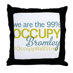 Occupy Bromley Throw Pillow