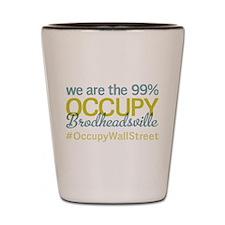 Occupy Brodheadsville Shot Glass