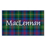 Tartan - MacLennan Sticker (Rectangle 50 pk)