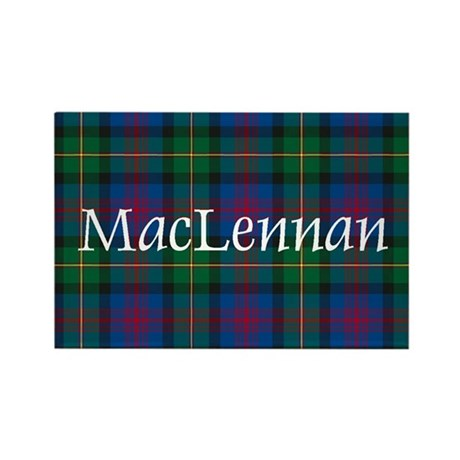 Tartan - MacLennan Rectangle Magnet (10 pack)