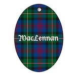 Tartan - MacLennan Ornament (Oval)