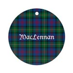 Tartan - MacLennan Ornament (Round)