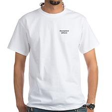 Myspace Whore ~ White T-shirt
