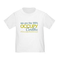 Occupy Curitiba Toddler T-Shirt