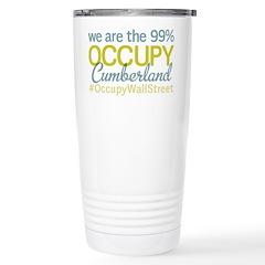 Occupy Cumberland Travel Mug