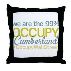 Occupy Cumberland Throw Pillow