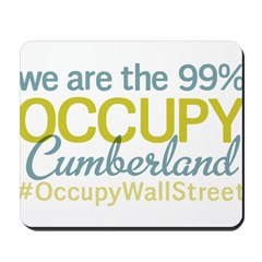 Occupy Cumberland Mousepad