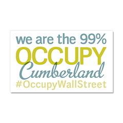 Occupy Cumberland Car Magnet 20 x 12