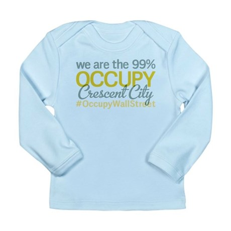 Occupy Crescent City Long Sleeve Infant T-Shirt