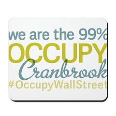 Occupy Cranbrook Mousepad