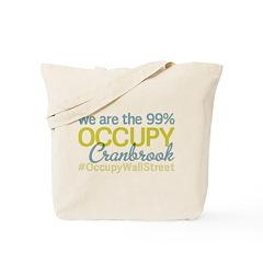 Occupy Cranbrook Tote Bag