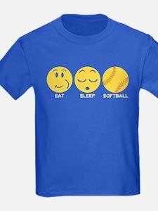 Eat Sleep Softball T