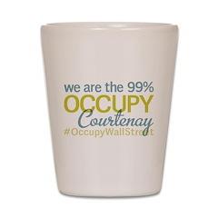 Occupy Courtenay Shot Glass