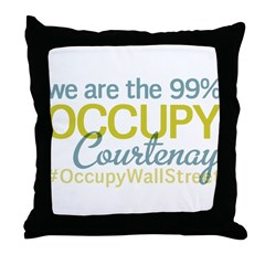 Occupy Courtenay Throw Pillow