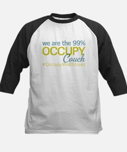 Occupy Couch Kids Baseball Jersey
