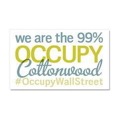Occupy Cottonwood Car Magnet 20 x 12