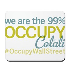 Occupy Cotati Mousepad