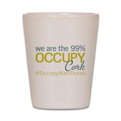 Occupy Cork Shot Glass