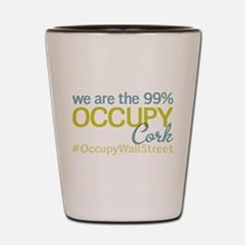 Occupy Cork Shot Glass