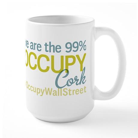 Occupy Cork Large Mug