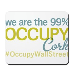 Occupy Cork Mousepad